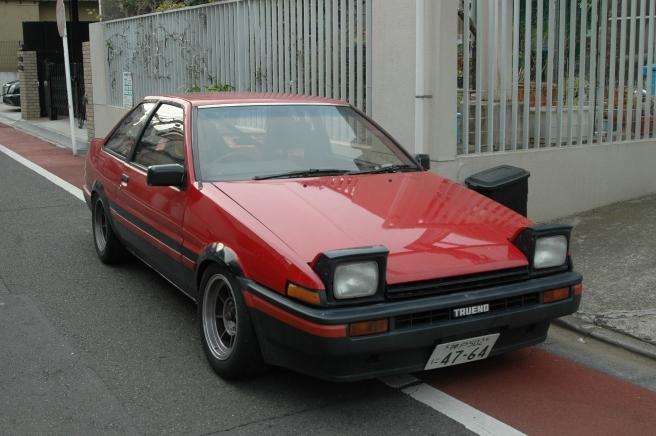 AE86 Trueno Notchback